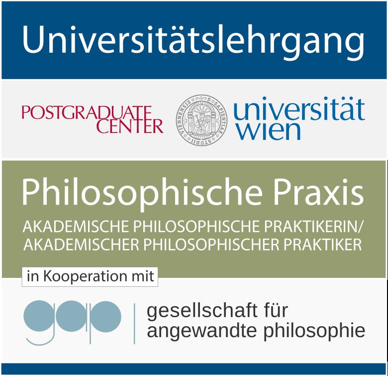 Lehrgang philosophische Praxis - Grafik