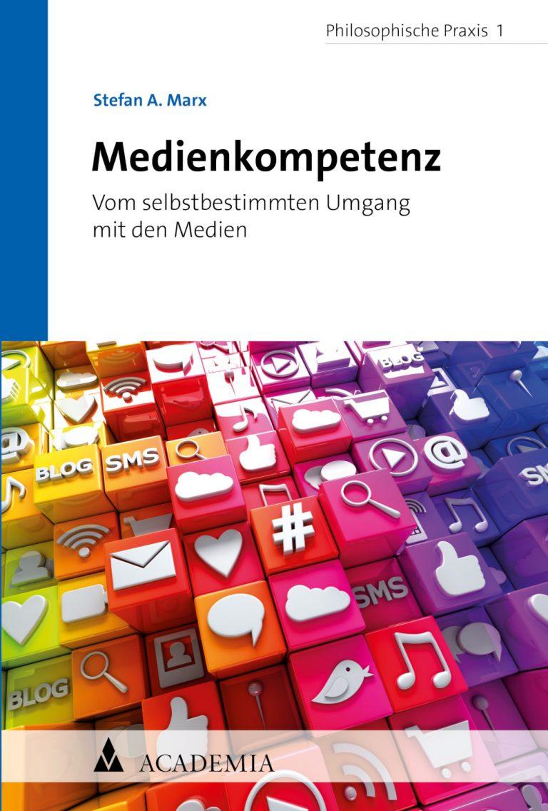 Buchumschlag Stefan A Marx: medienkompetenz