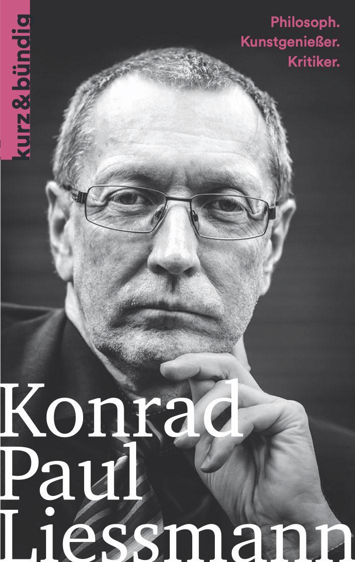 Umschlagbild: Konrad P. Liessmann | ein Porträt von Marion Fugléwicz-Bren